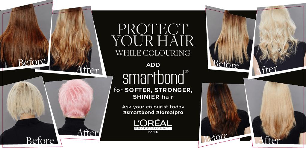 smartbond for coloured hair, Kidlington hair salon