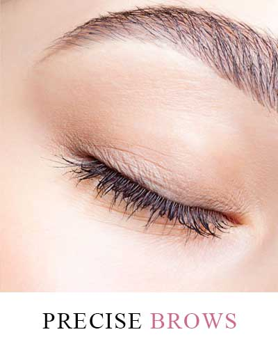 Precise Brows with expert beauticians at Makeover Palace Beauty Salon in Kidlington, Oxford
