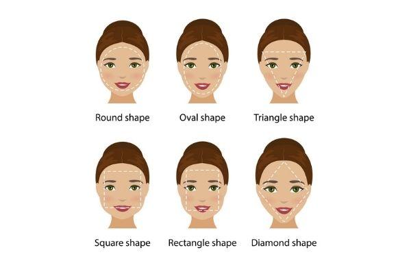 Female Face Shapes, Makeover Palace Hair & Beauty Salon, Kidlington, Oxford